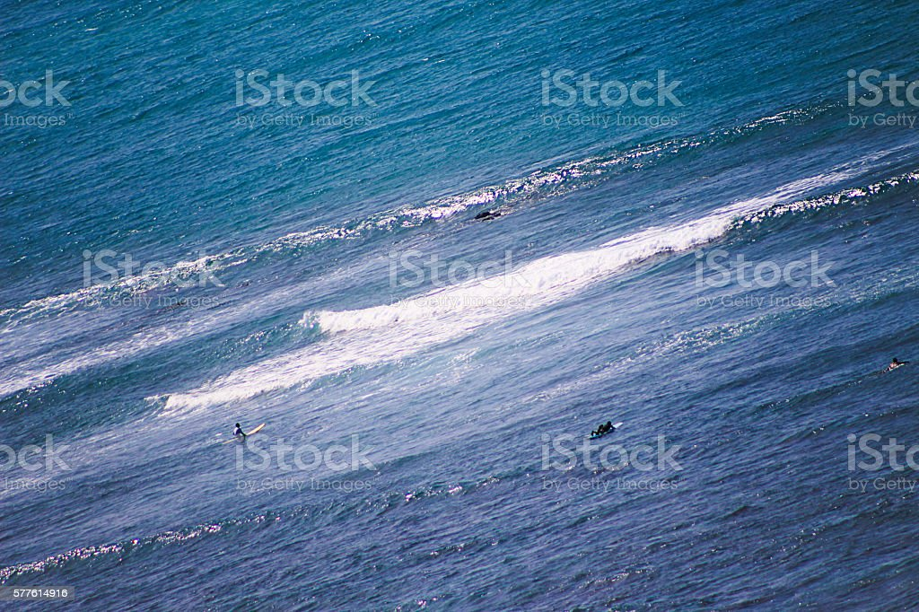Pacific Ocean from Hawaii royalty-free stock photo