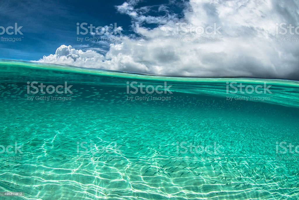 Pacific Ocean - Palau, Micronesia stock photo