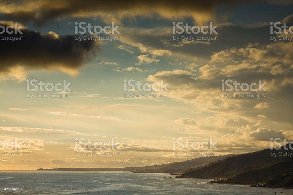 Pacific Palisades and Malibu, CA royalty-free stock photo