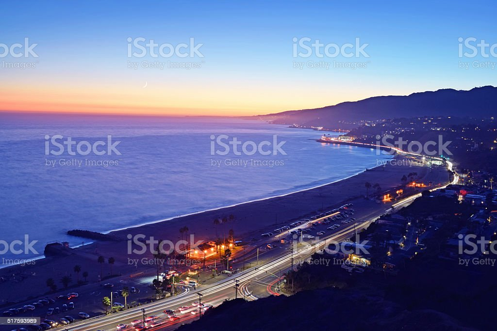 Pacific Palisades stock photo