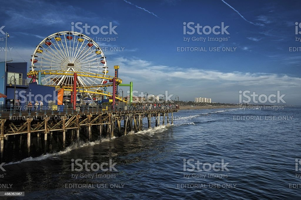 Pacific Park, Santa Monica stock photo