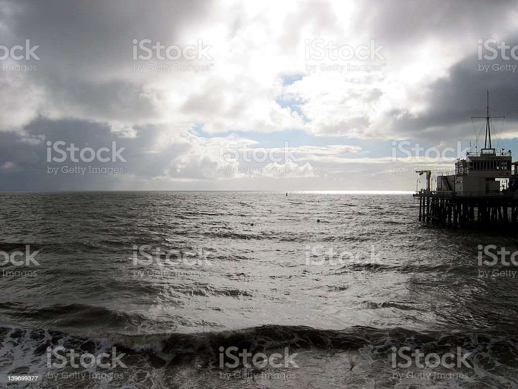 Pacific Pier royalty-free stock photo