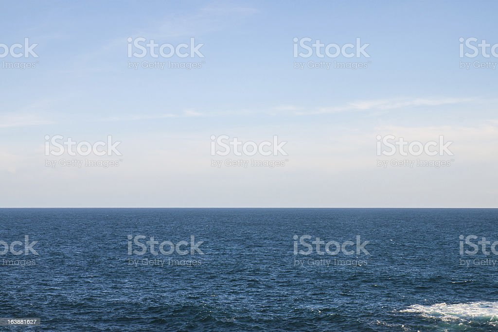 Pacific sea royalty-free stock photo