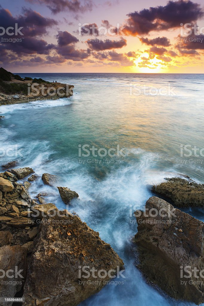 Pacific Sunrise royalty-free stock photo