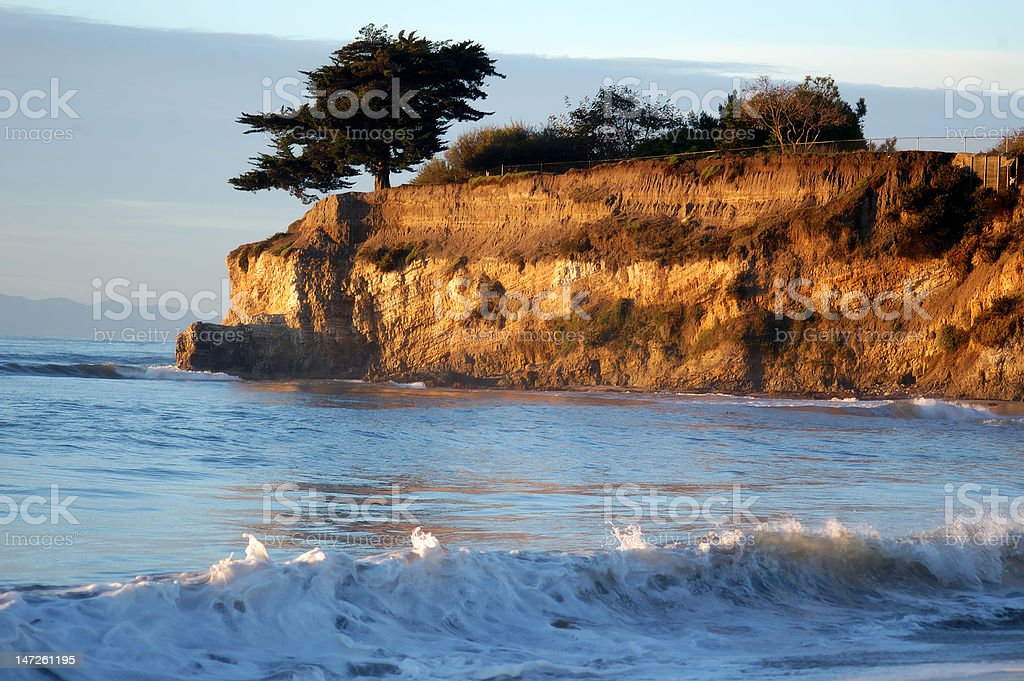Pacific Wave stock photo