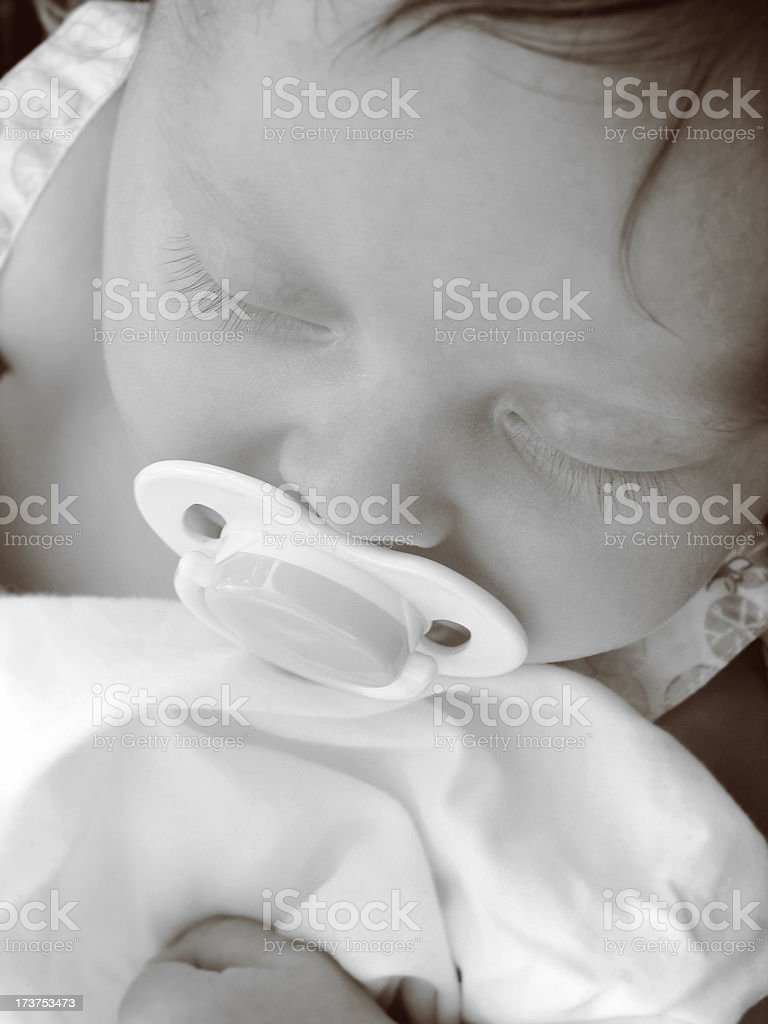 Pacified royalty-free stock photo