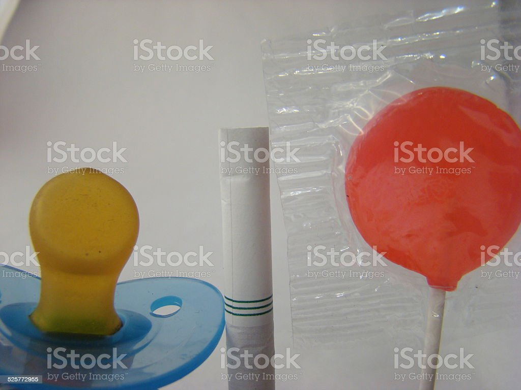 pacifiers for all ages stock photo