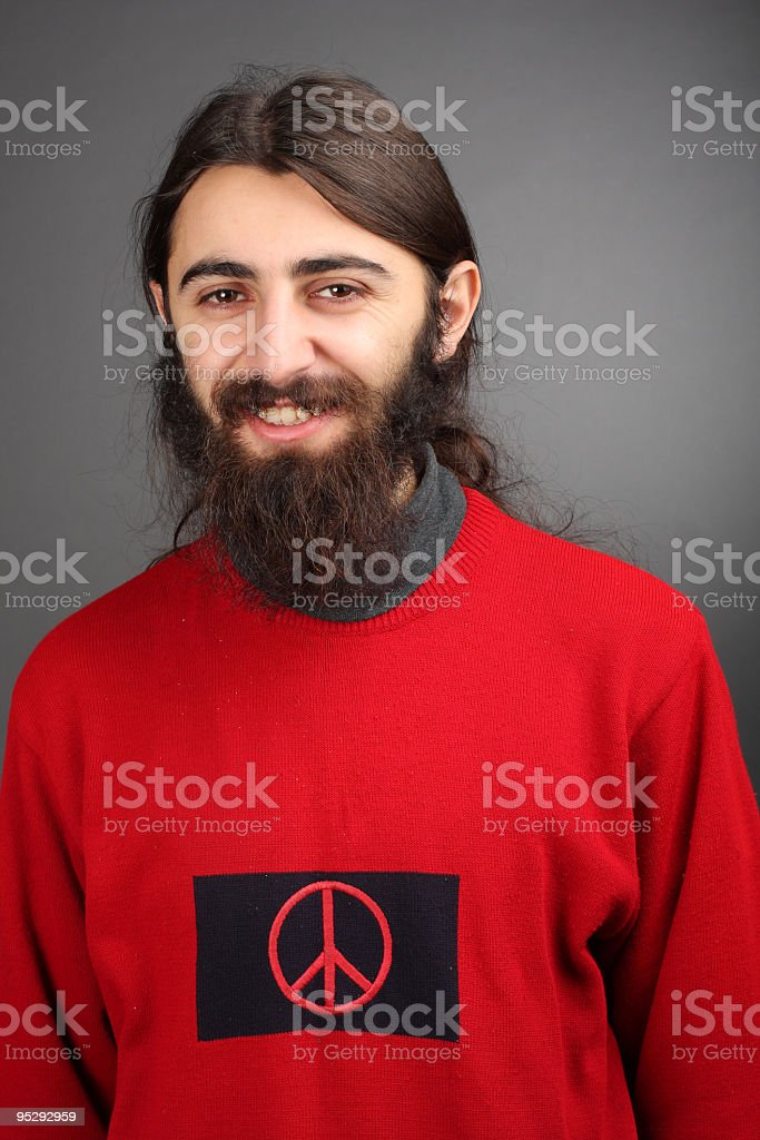pacifist - peace and love royalty-free stock photo