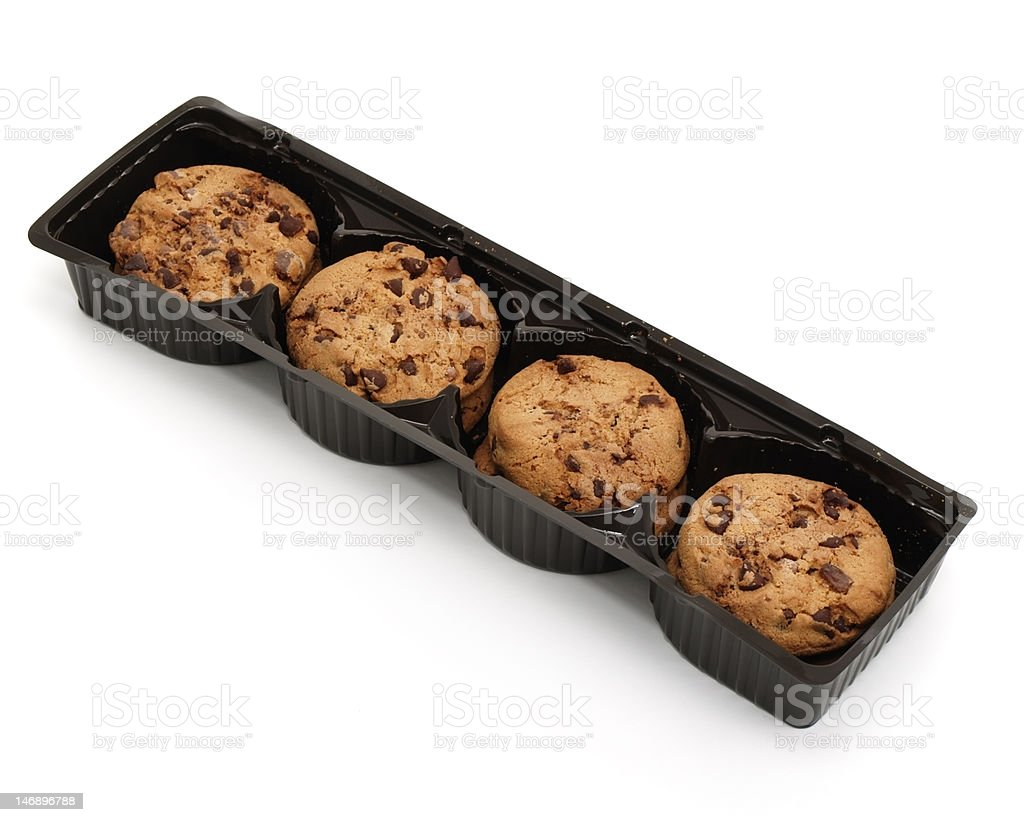 pack of cookies royalty-free stock photo