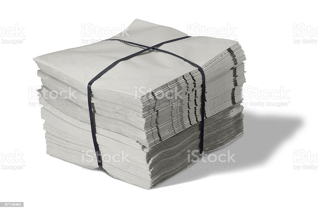 pack of paper royalty-free stock photo