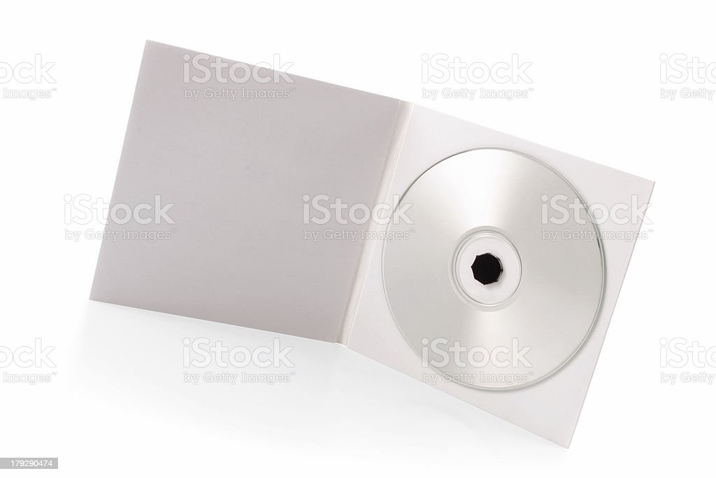 Package - CD royalty-free stock photo