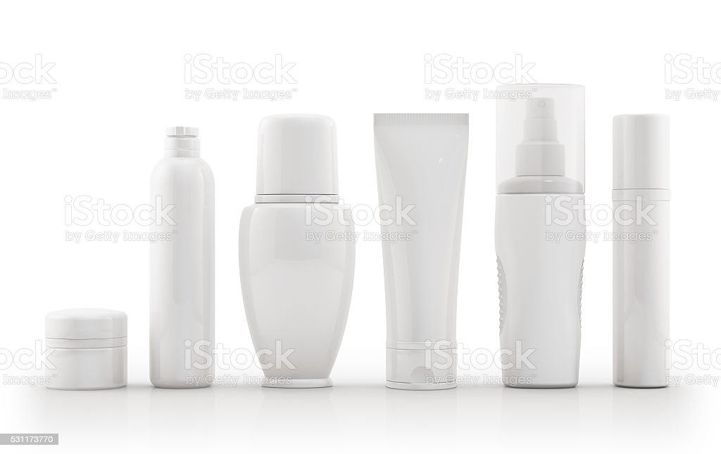 Package Cosmetic stock photo