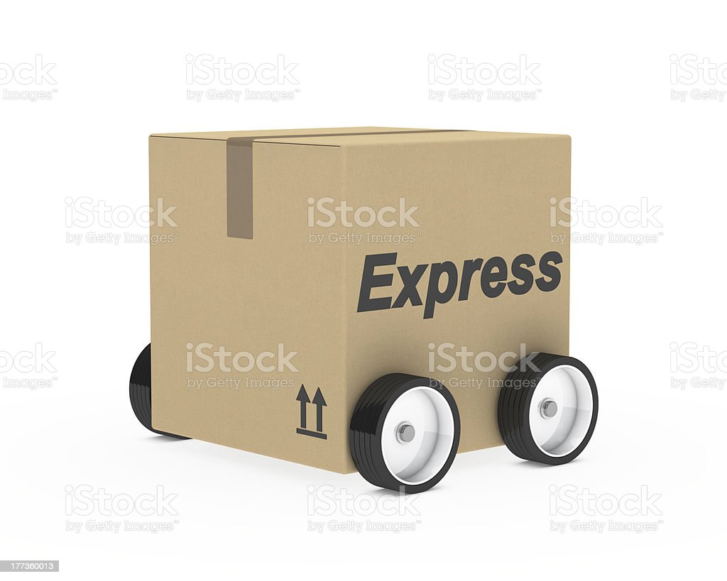 package express car figure royalty-free stock photo