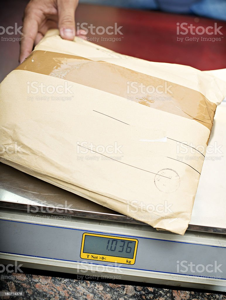 Package royalty-free stock photo