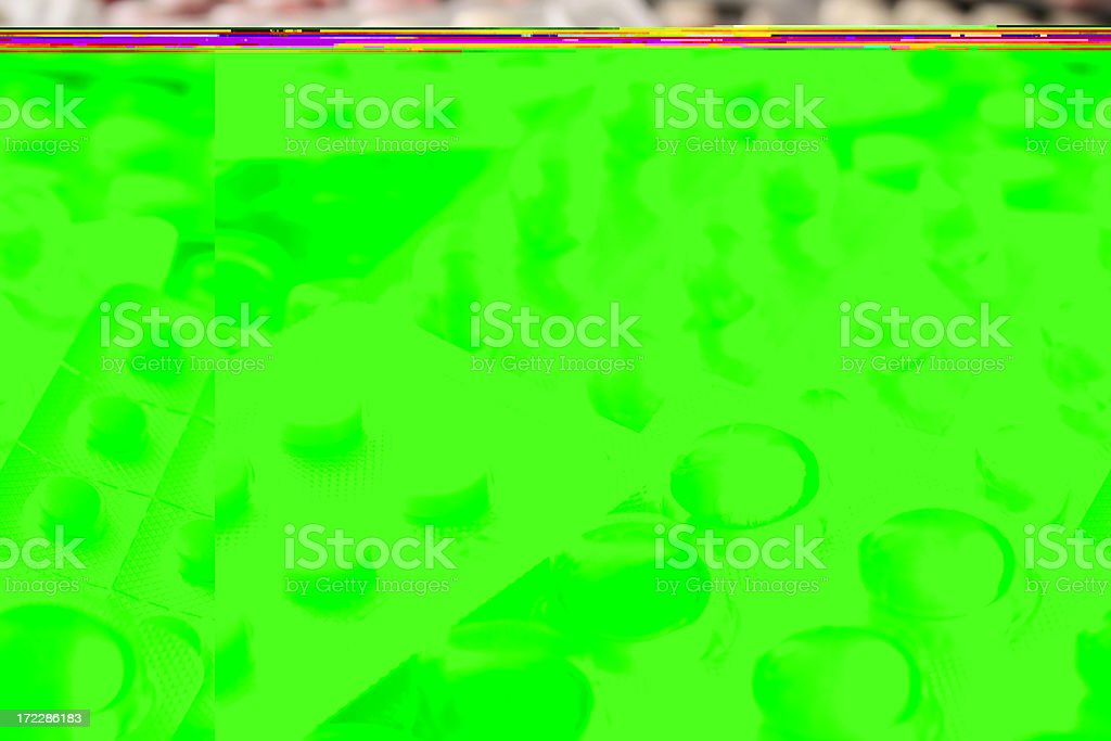 Packaged pills royalty-free stock photo