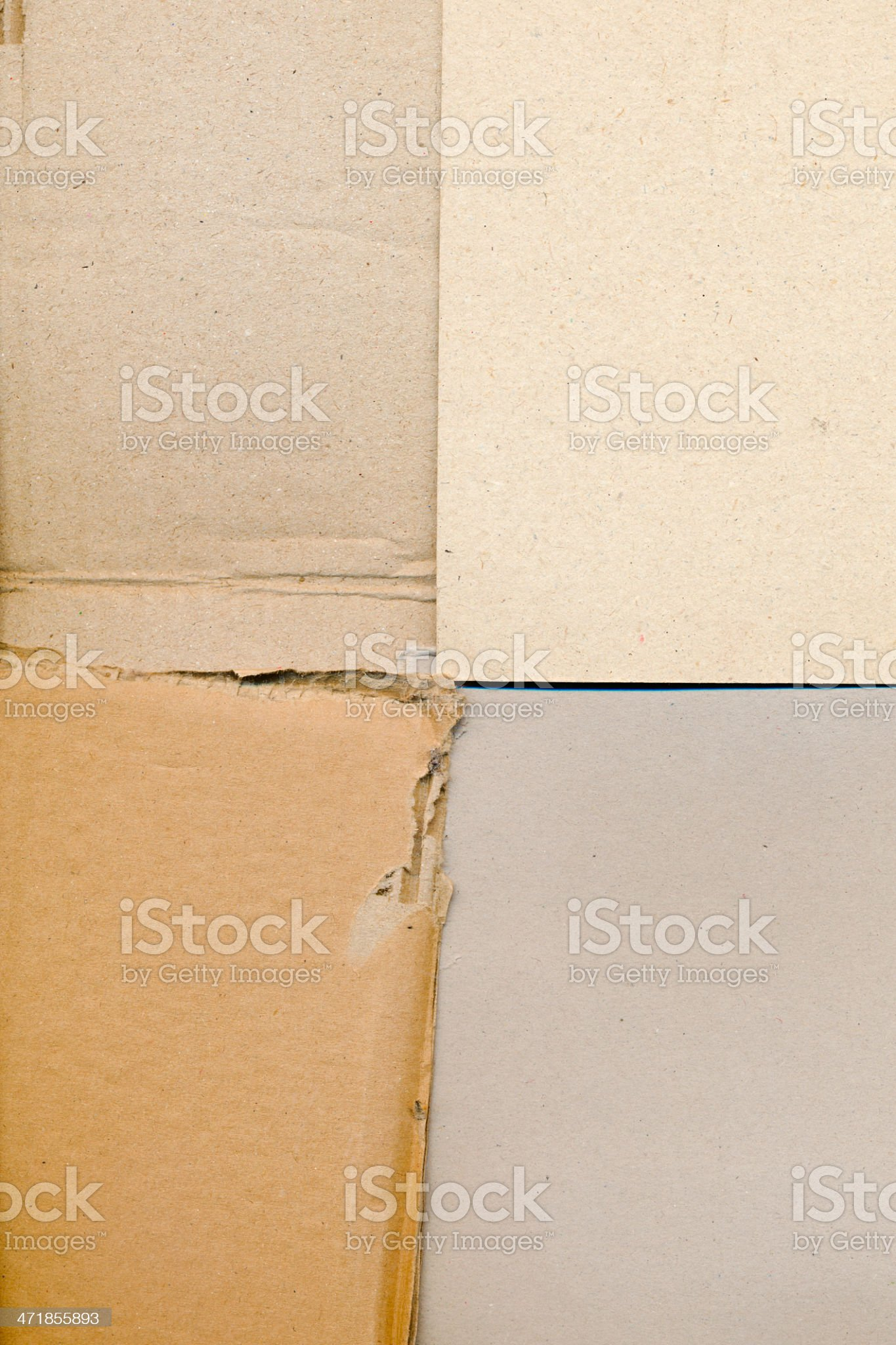packaging board and cardboard royalty-free stock photo