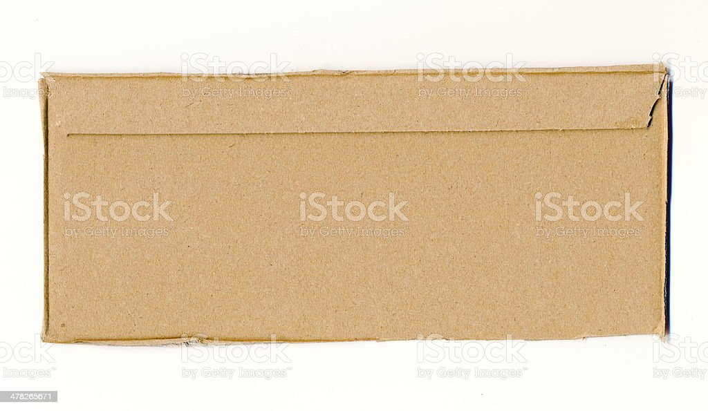 Packaging board fragment royalty-free stock photo