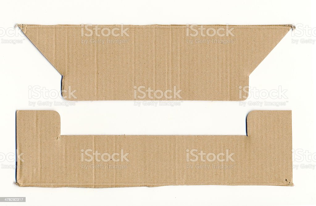 Packaging board part royalty-free stock photo
