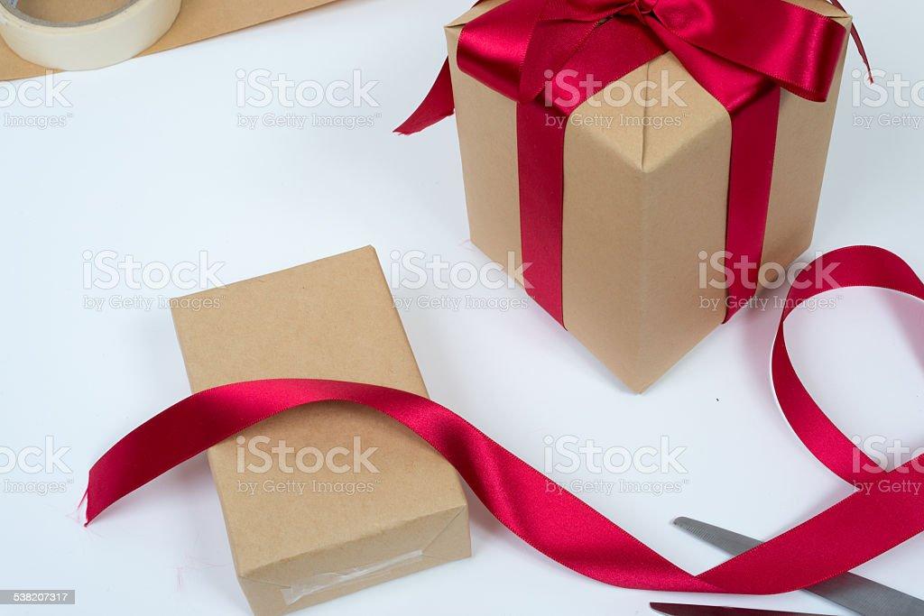 Opakowanie prezentu zbiór zdjęć royalty-free