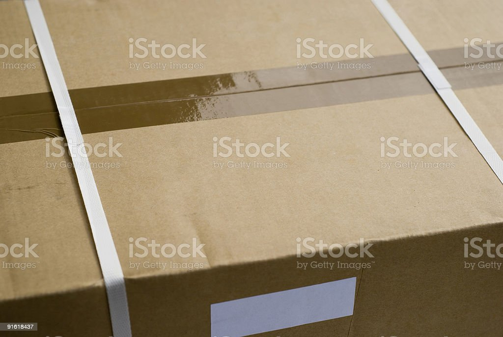 Packaging – Paperboard box royalty-free stock photo