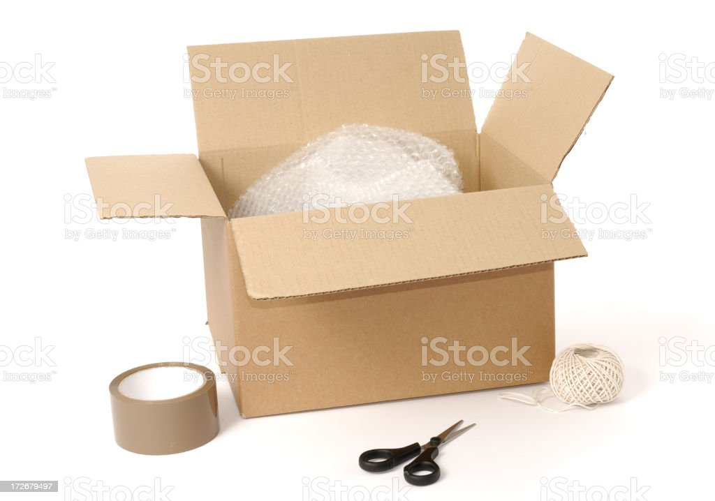 packaging royalty-free stock photo