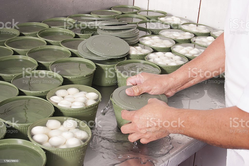 Packaging work royalty-free stock photo
