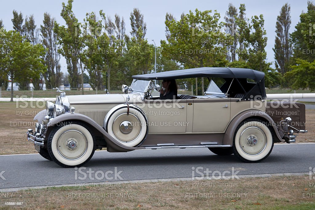Packard Phaeton Model 640 from 1929 royalty-free stock photo