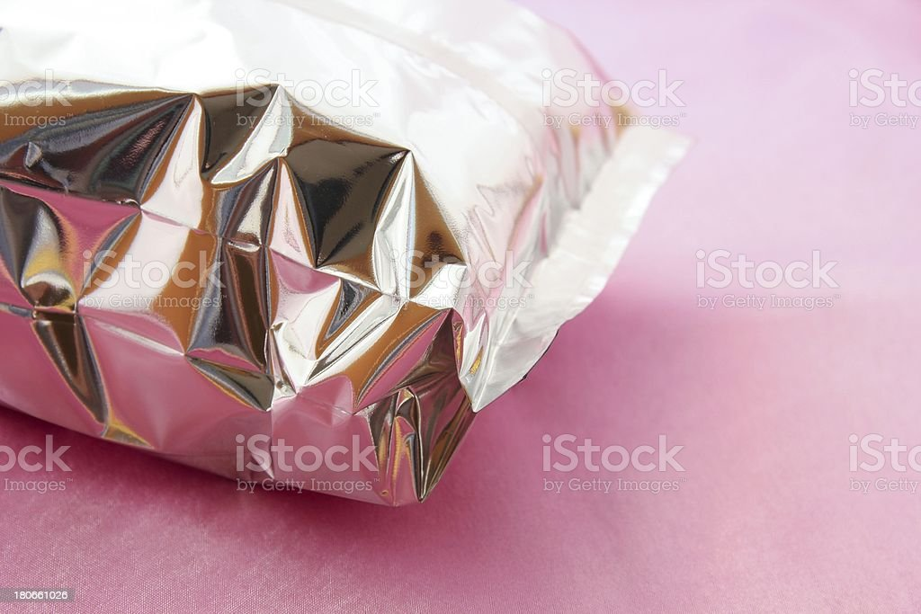 Packed Food Bag royalty-free stock photo