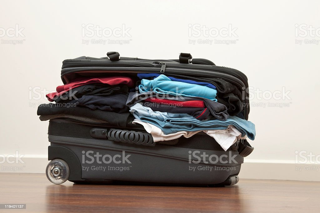 Packed to the rafters royalty-free stock photo