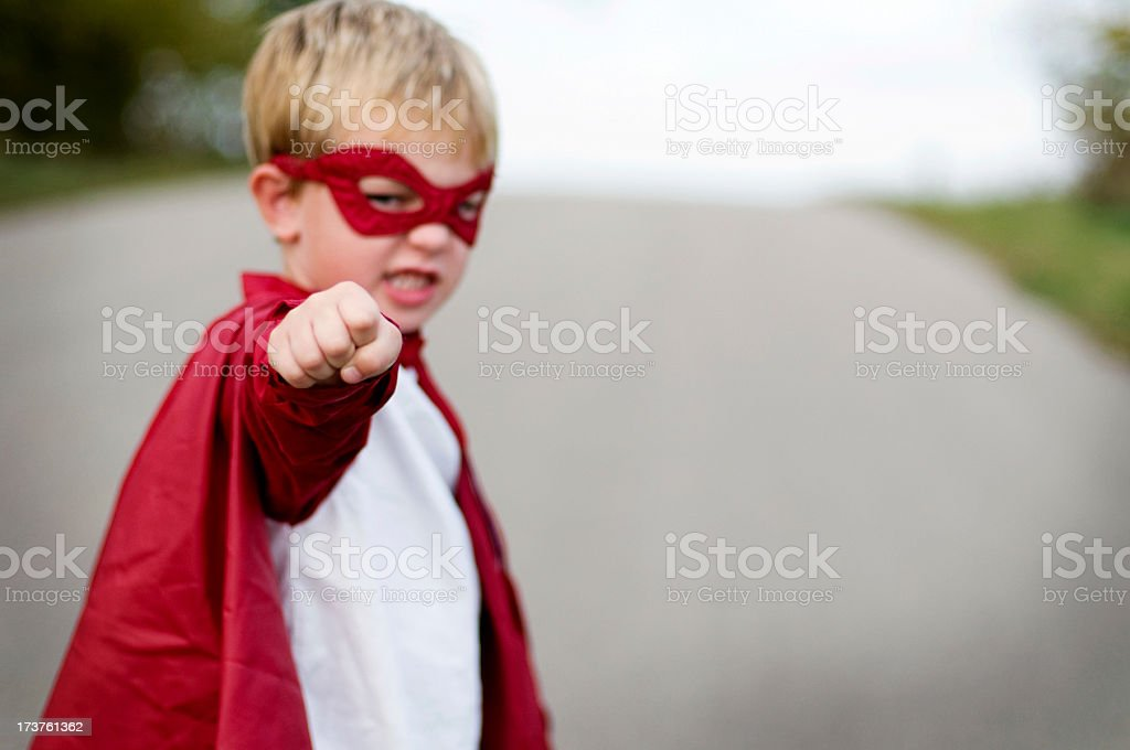 Packing a Punch stock photo