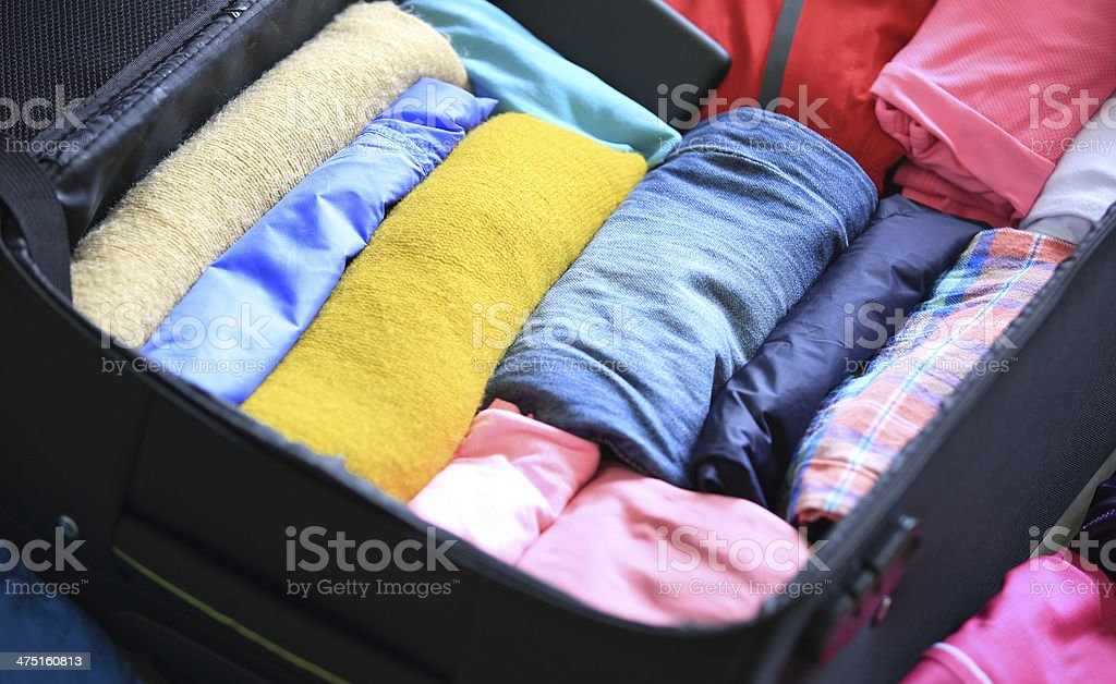 packing for new journey royalty-free stock photo