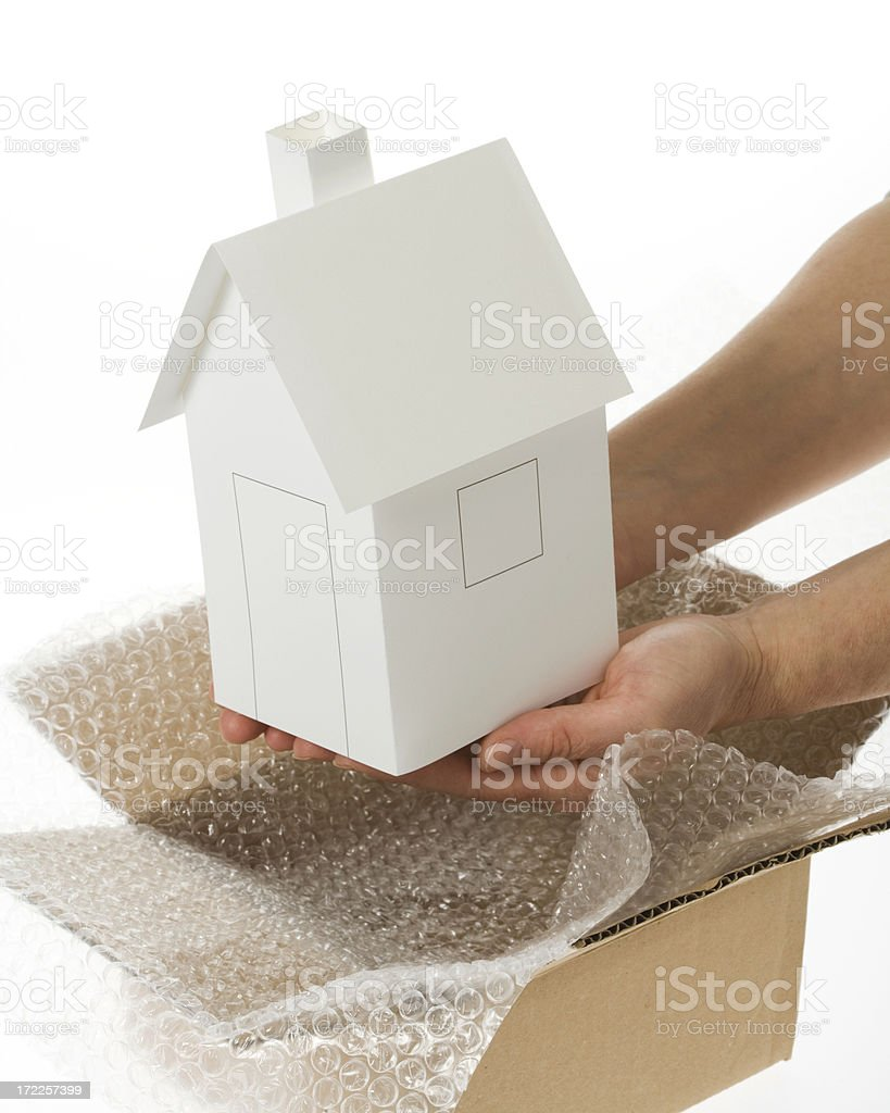 Packing house royalty-free stock photo
