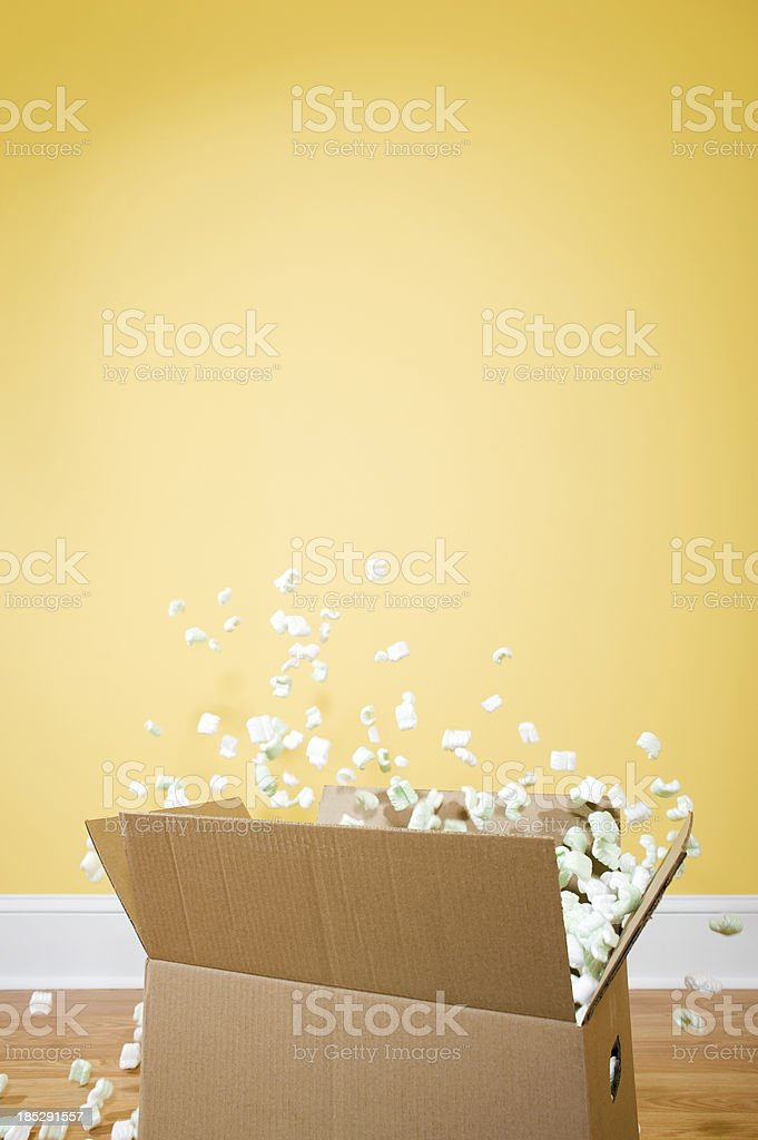Packing Peanuts stock photo