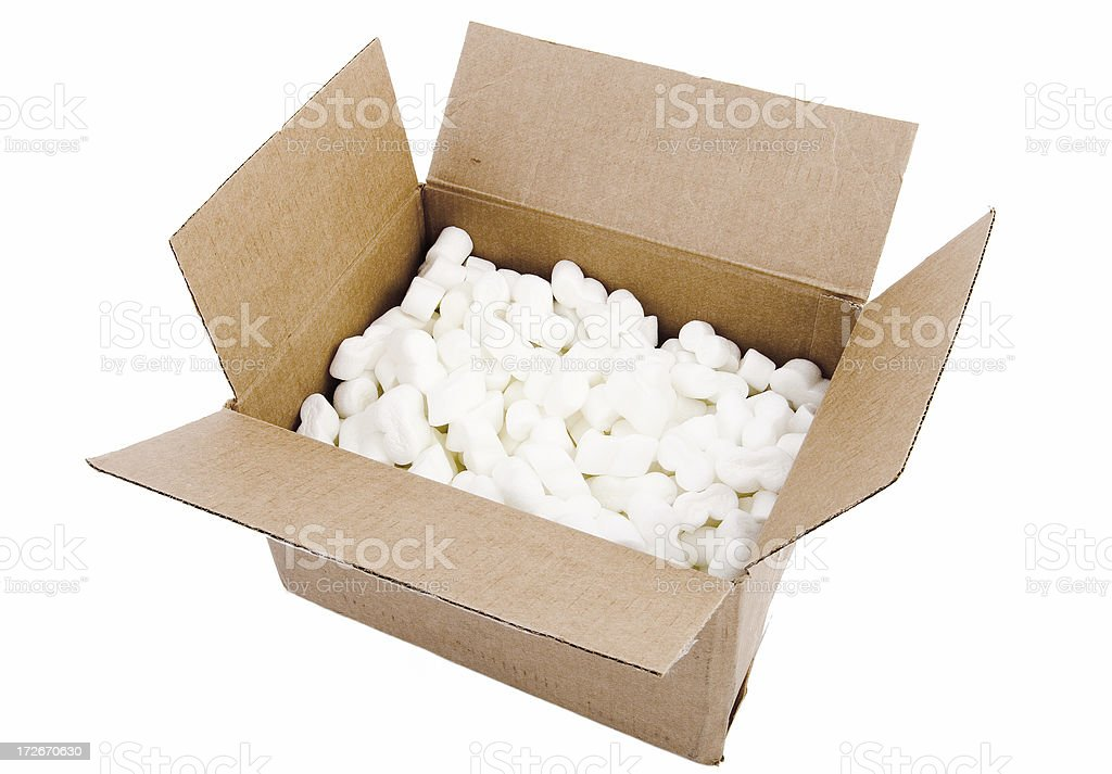 Packing royalty-free stock photo