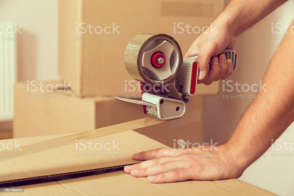Packing stock photo