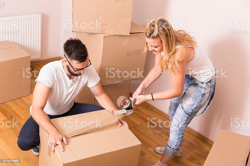 Packing stock photo