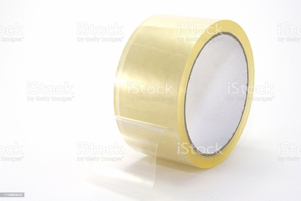 Packing tape stock photo