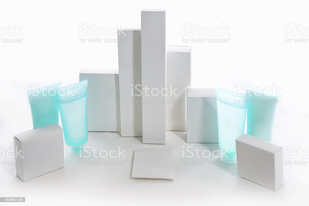 Packs And Containers, Blank stock photo