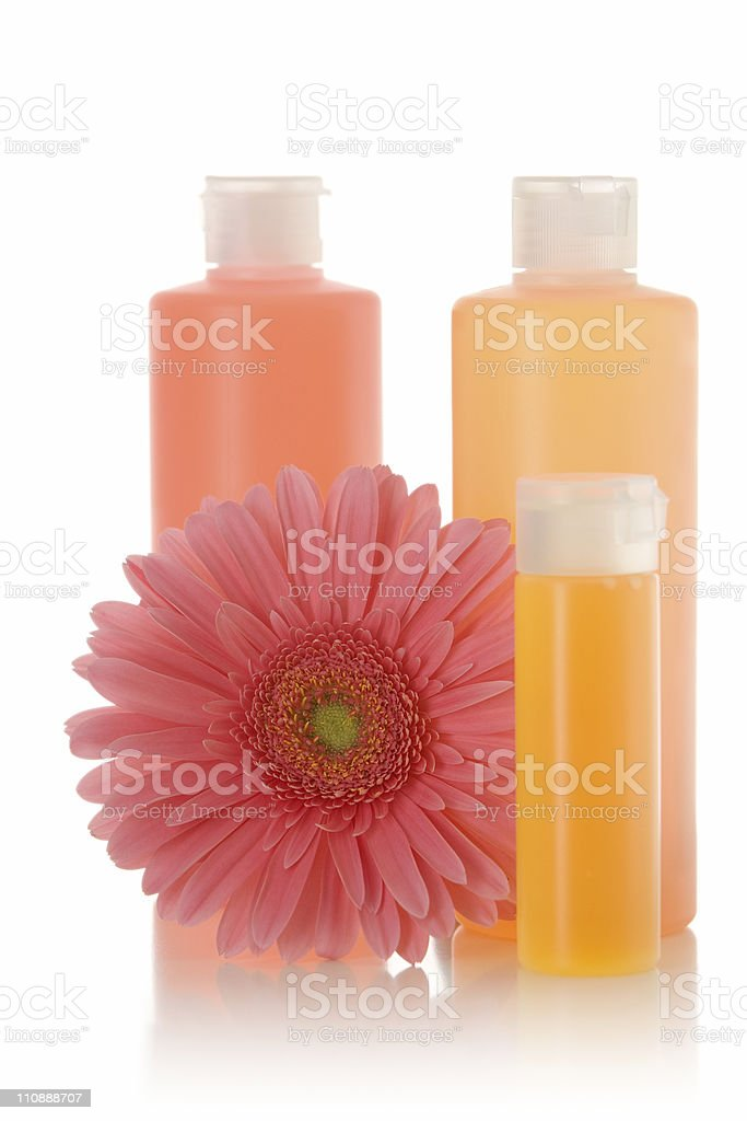 Packshot - Spa products royalty-free stock photo