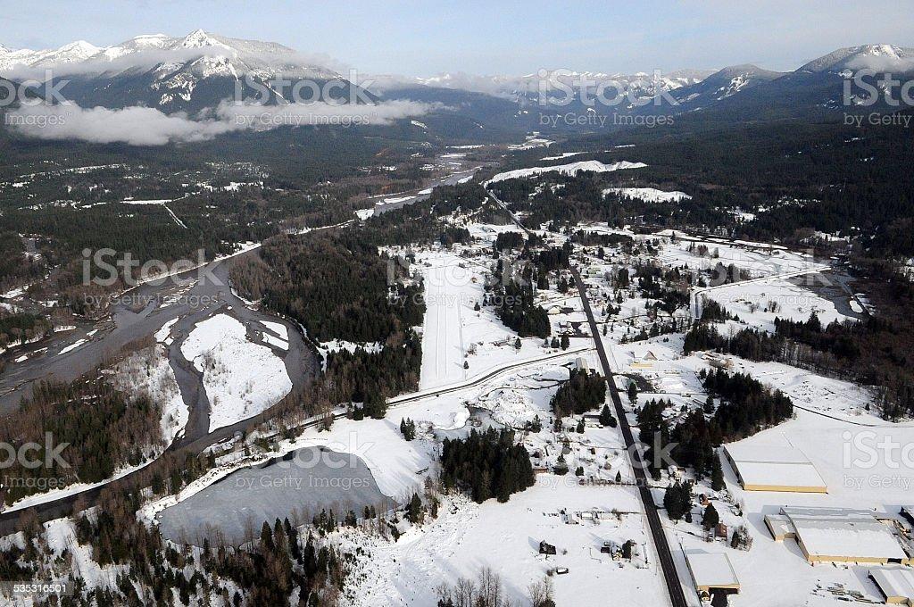 Packwood, Washington state stock photo