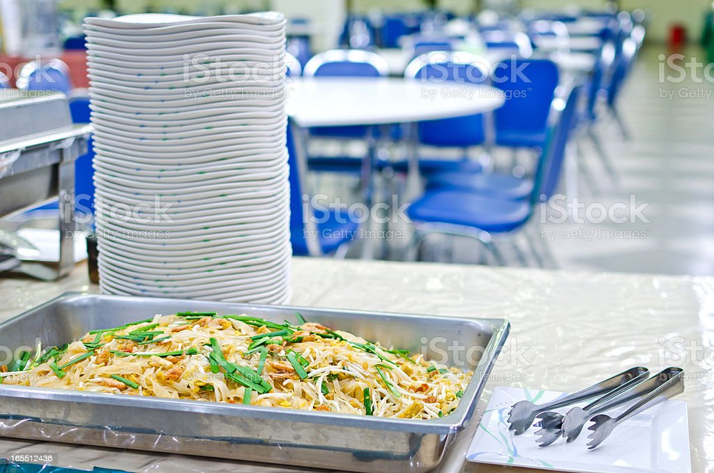 Pad thai is thailand food royalty-free stock photo