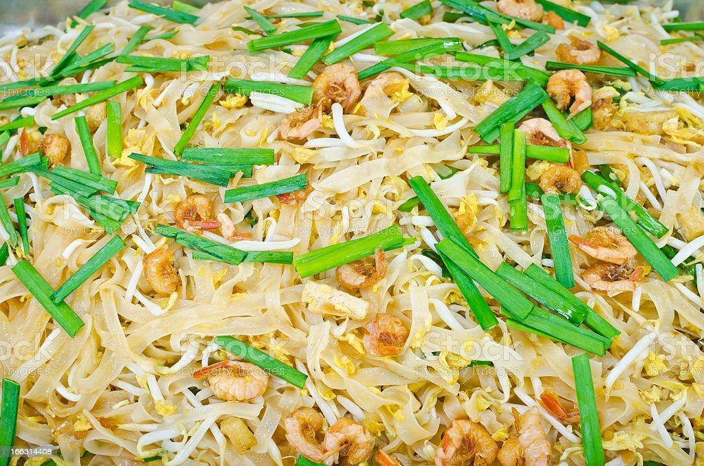Pad thai is thailand food royalty-free stock photo