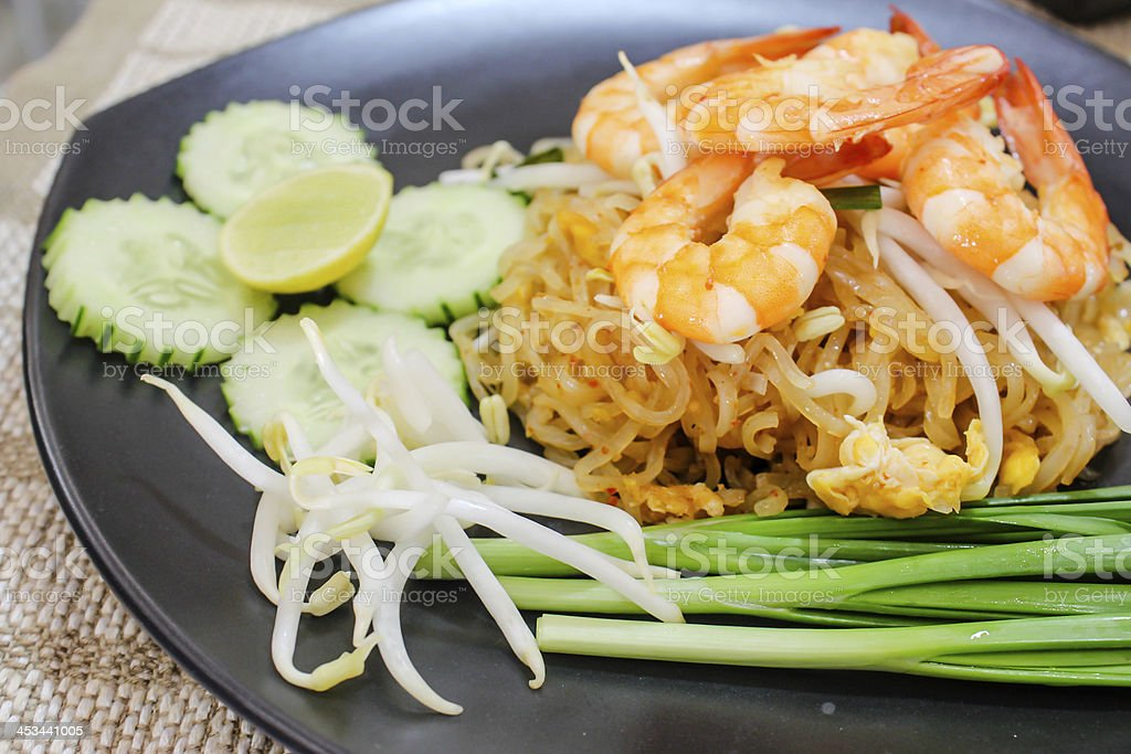 Pad thai royalty-free stock photo
