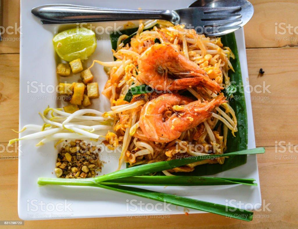 Pad thai stock photo