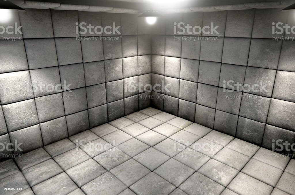 Padded Cell Dirty stock photo