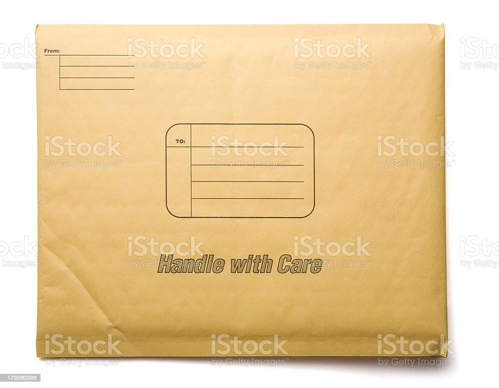 Padded Envelope royalty-free stock photo