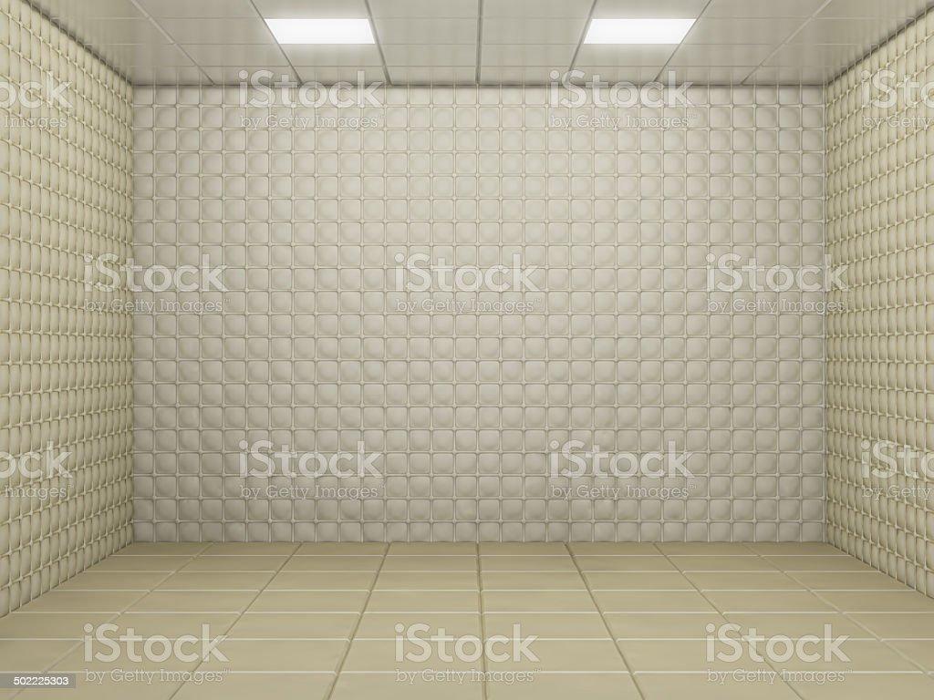 padded room stock photo