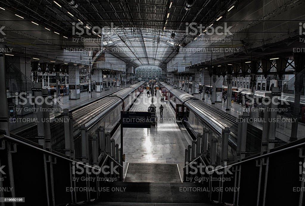 Paddington Station, London, England. stock photo