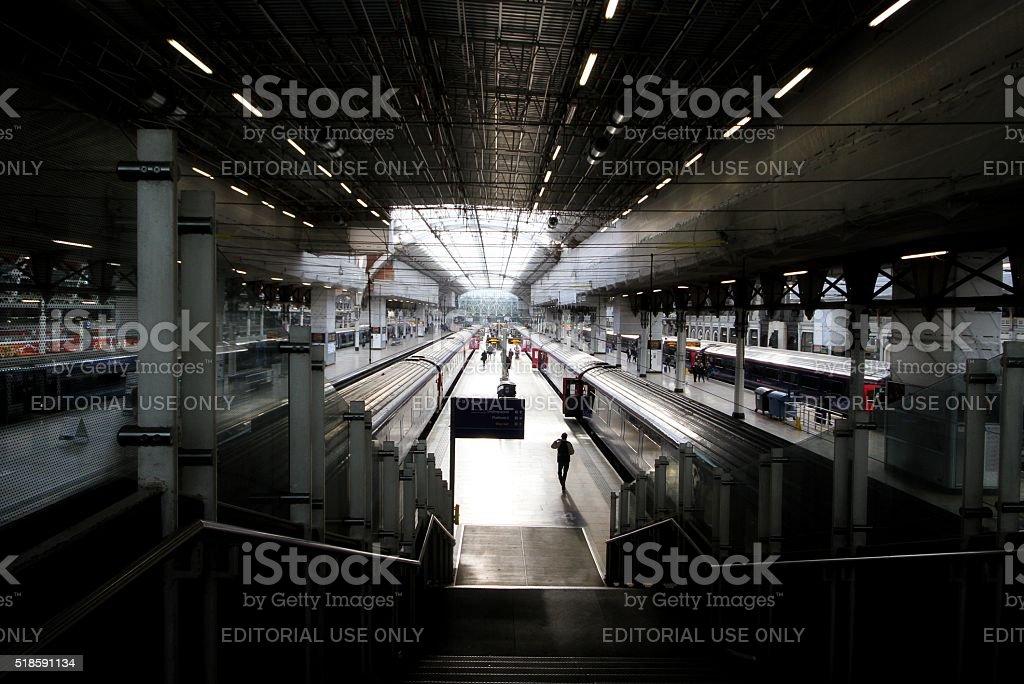 Paddington Station, London, UK stock photo