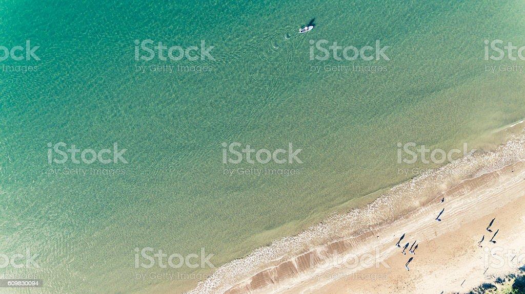 Paddle Boarding. stock photo